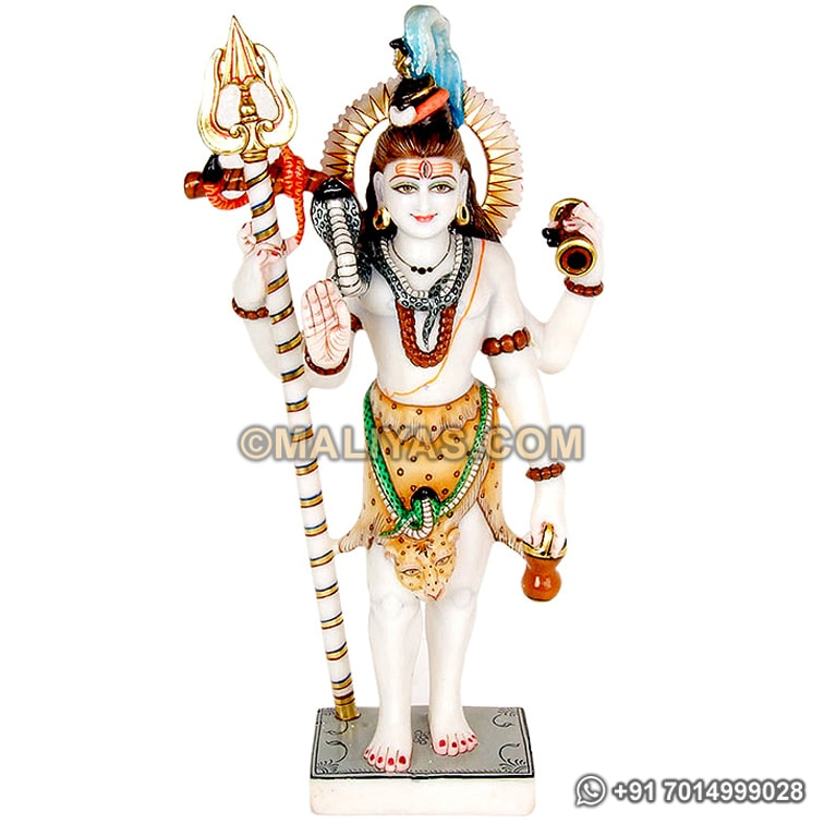 Beautiful Standing shiva statue