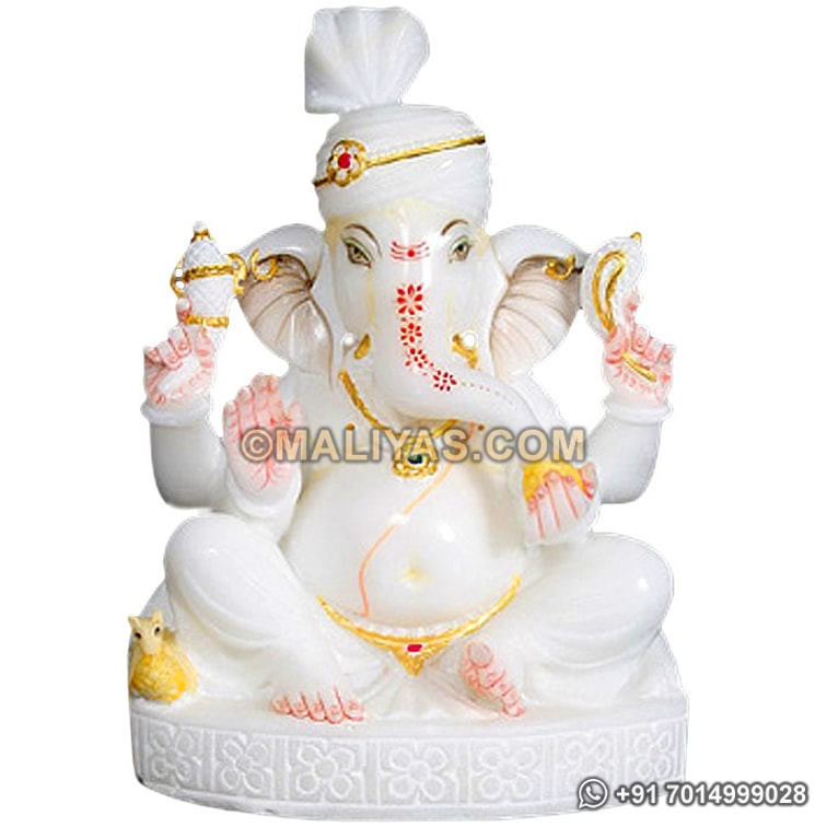 Marble Ganesh Statue For Home Decor