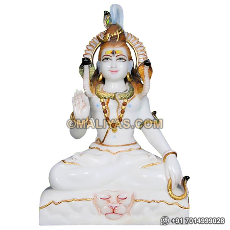 Lord Shiva Murties made in marble