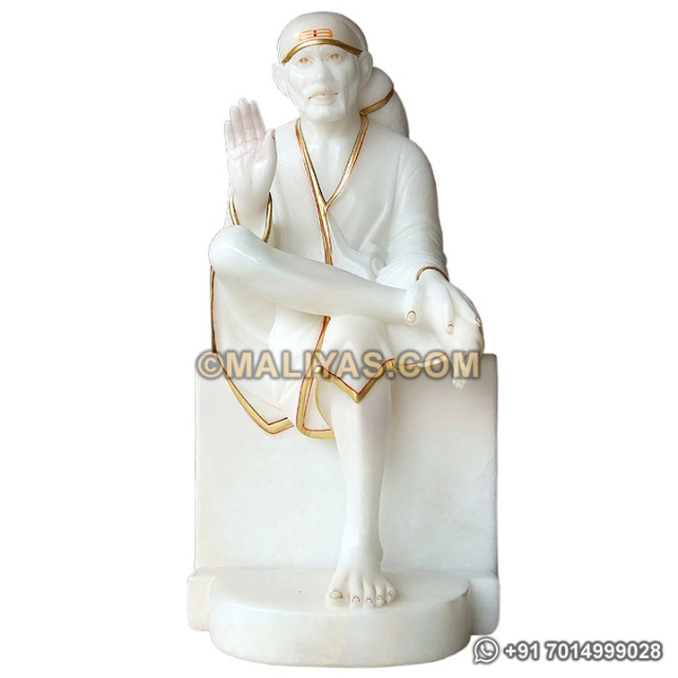 Marble Statues of Lord Sai baba