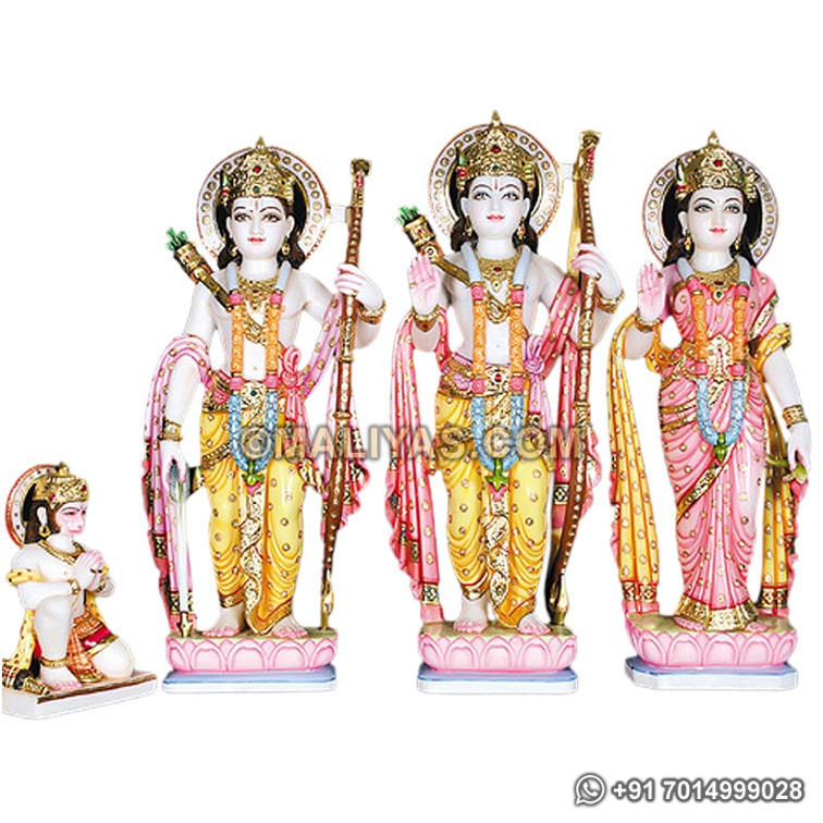 Ram Darbar Statue from Marble Stone
