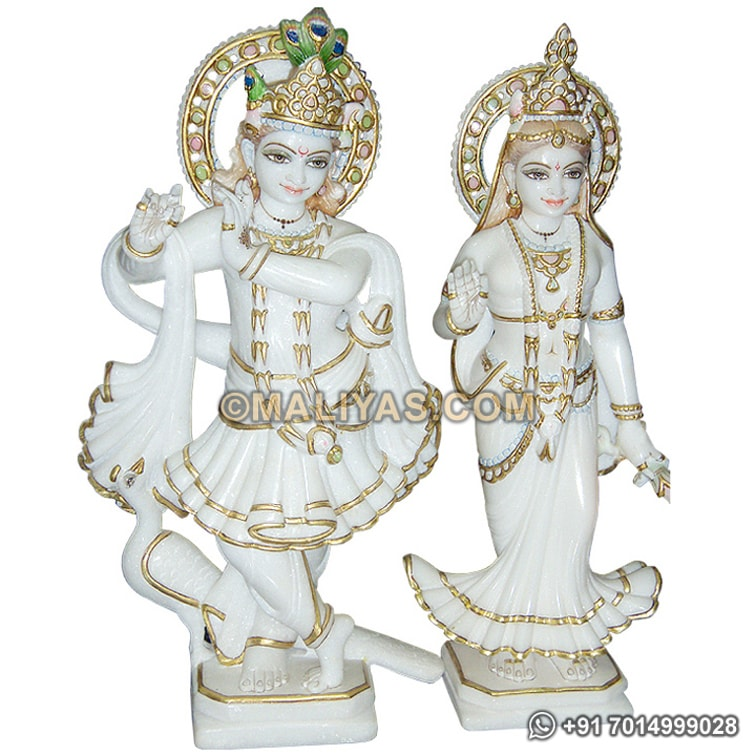 Statue of Lord Radha Krishna for temple