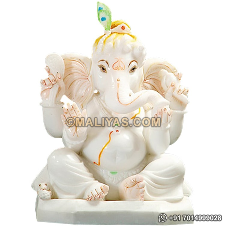 Superior Quality Ganesh Statue from Marble