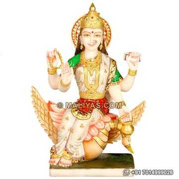 Brahmani Murti from White Marble