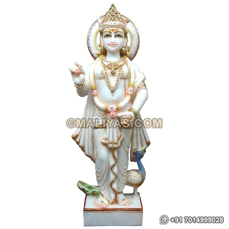 Buy Marble Muruga Staue