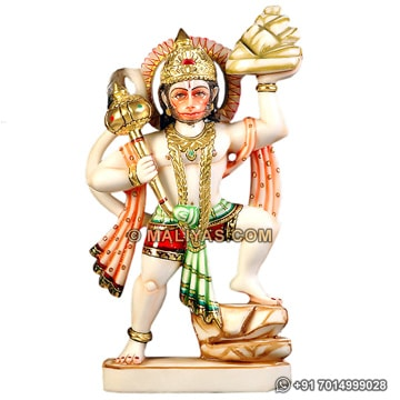 Exquisite hanuman Statue from marble