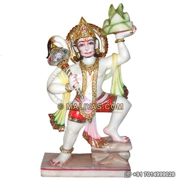 Marble Statue of Lord Hanuman