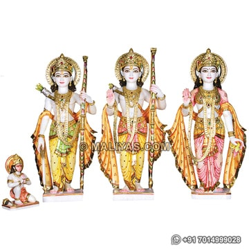 Superior quality Marble Ram Darbar Statue