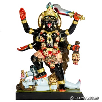 kali Maa Statue carved from Marble